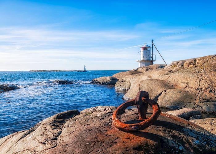 Lighthouse on the Gothenburg archipelago