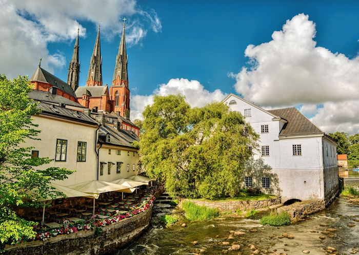 By the water in Uppsala