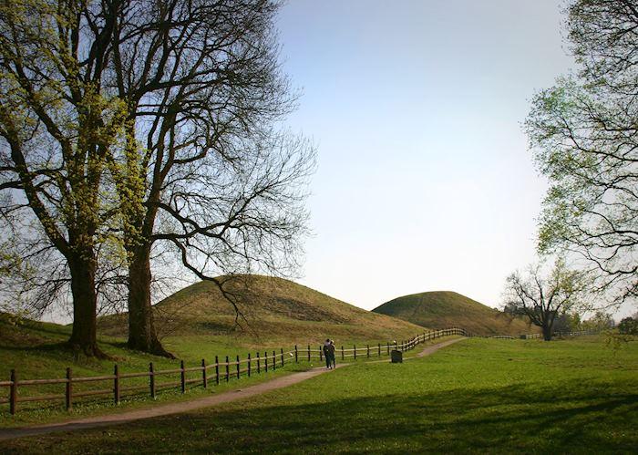 Uppsala burial mounds