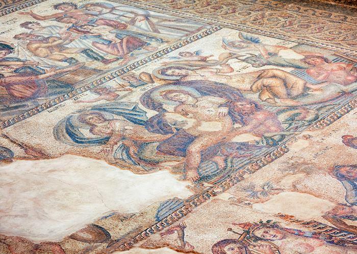 Mosaic floor, House of Aion