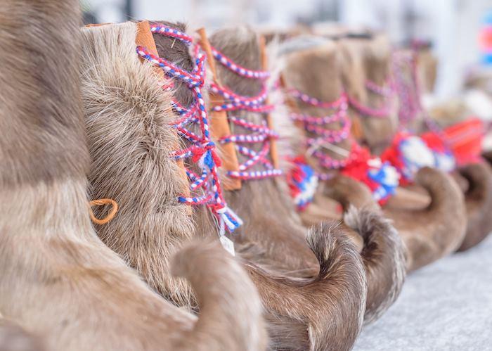 Traditional Sámi boots