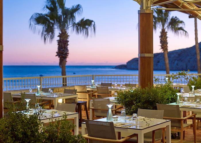 Cape Aspro restaurant, Columbia Beach Resort
