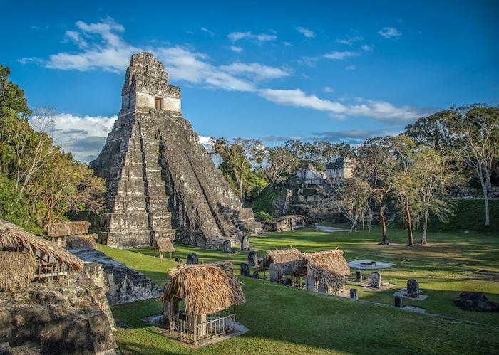 Mayan pyramid in Tikal