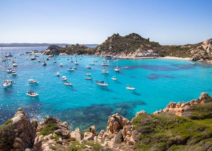 Cala Corsara, La Maddalena islands