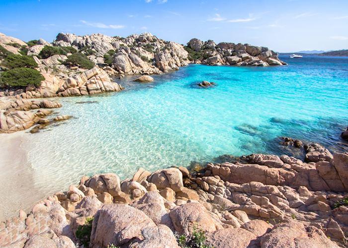Beach of Cala Coticcio, La Maddalena islands