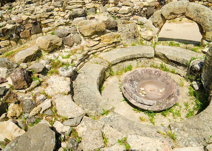 Archaeological site, Su Nuraxi di Barumini