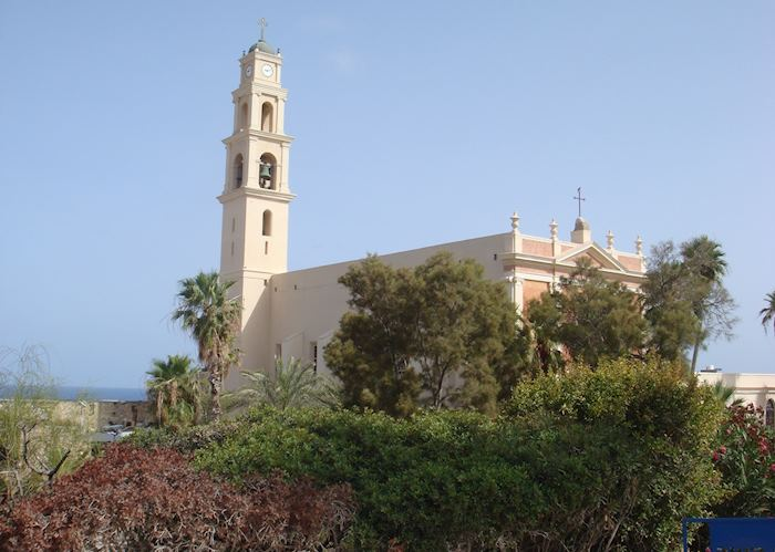 Church in Jaffa, Tel Aviv