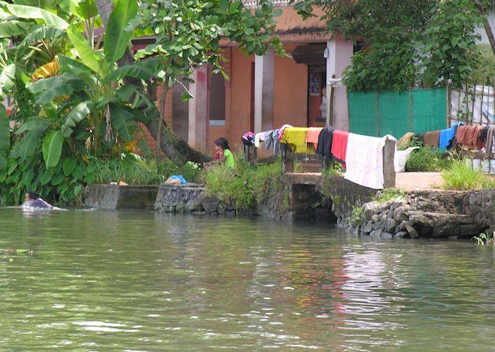Backwaters, India