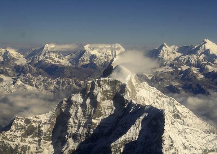 Everest scenic flight views