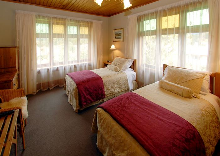 King/twin room, Holly Homestead, Franz Josef Glacier