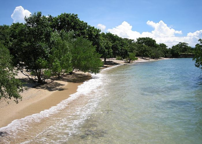 Beach in Bali Barat, Indonesia