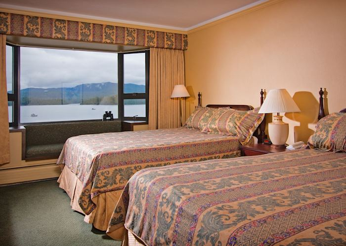 Superior Harbour View room, Crest Hotel, Prince Rupert