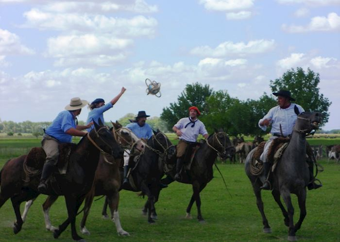 Traditional Gaucho Games at Estancia El Ombu de Areco