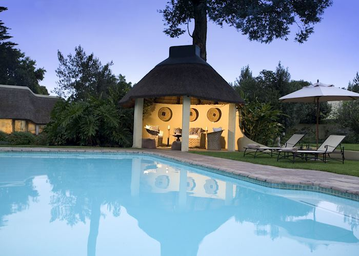 Swimming pool at Hunter's Country House