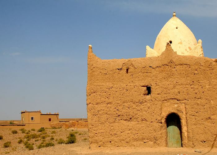 Holy man's house, Skoura, Morocco