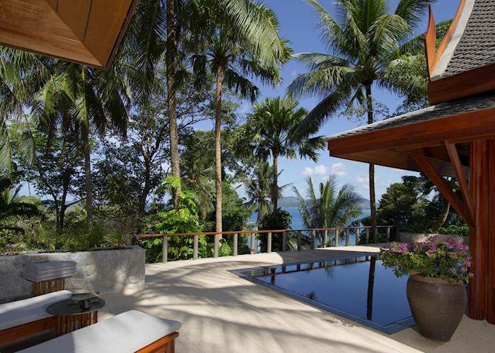 Partial Ocean Pavilion, Amanpuri, Phuket