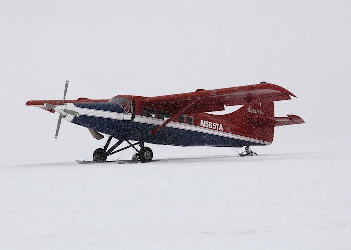Glacier landing, Talkeetna