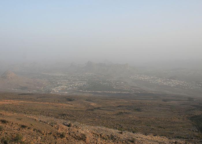 View of Al Hamra town
