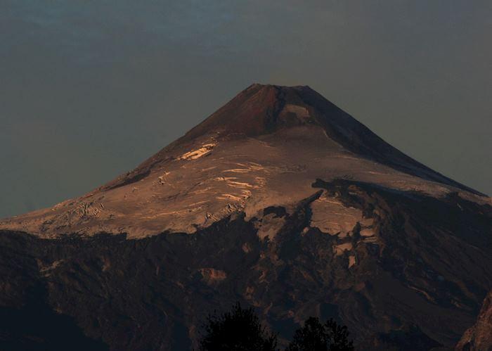 The Villarrica Volcano, Pucon, Chile