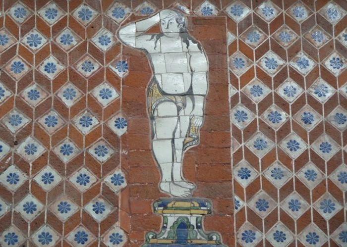 Mural, Puebla, Mexico
