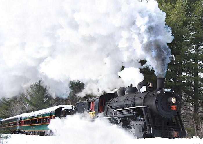 Conway Scenic Railroad, New Hampshire