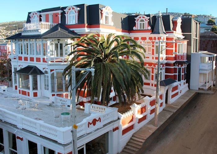 Hotel Palacio Astoreca, Valparaiso