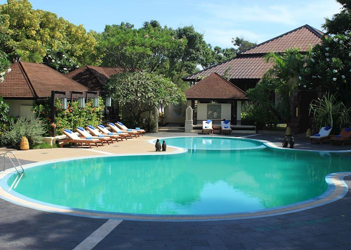 Pool, Aye Yar River View Resort, Bagan