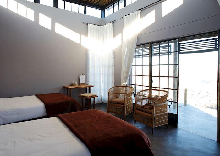 Fish River Lodge twin bedroom