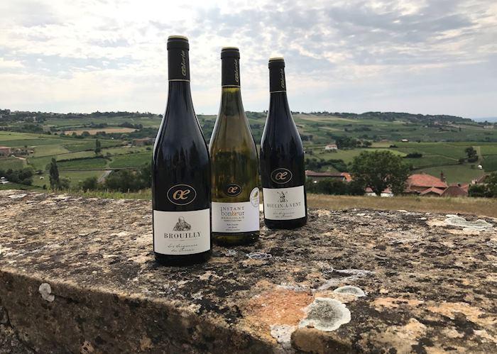 Beaujolais wine region, Lyon