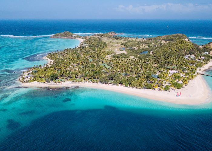 Ariel View, Palm Island Resort & Spa, Palm Island