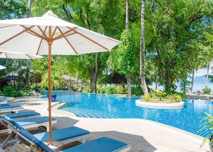 Main pool at Paradise
