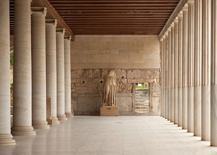 Stoa of Attalos, Ancient Agora