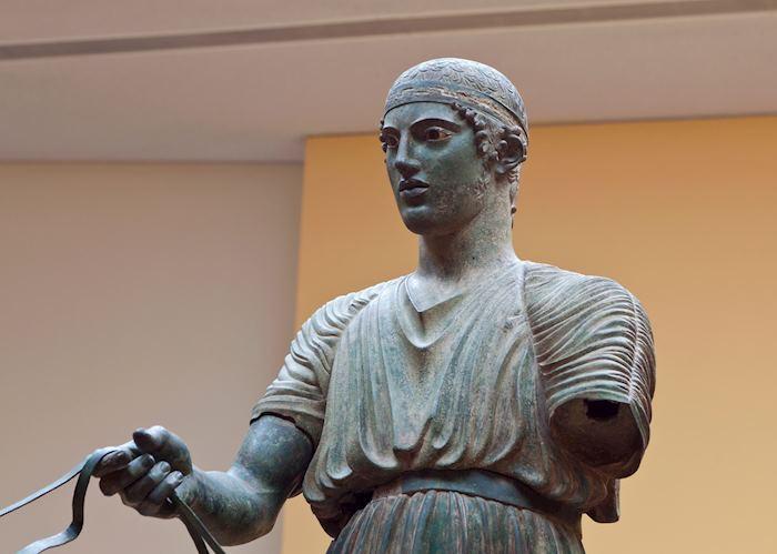 Bronze Charioteer, Delphi Museum