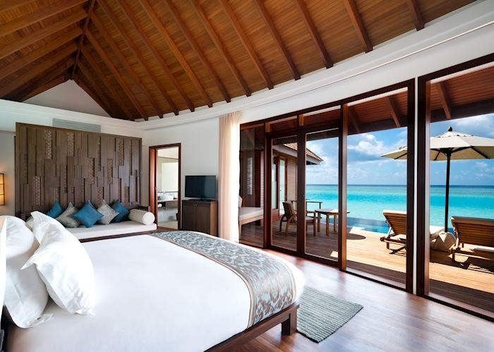 Sunset Pool Villa, Anantara Dhigu Resort, Maldive Island