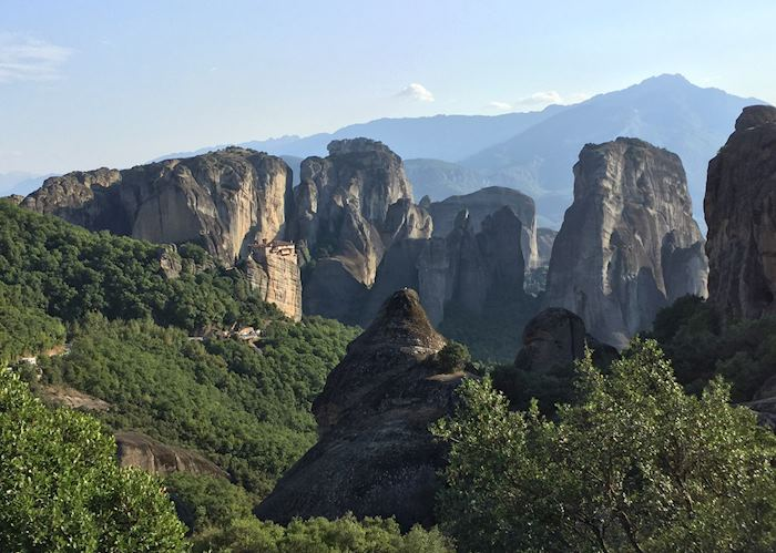 View of monastery, Meteora
