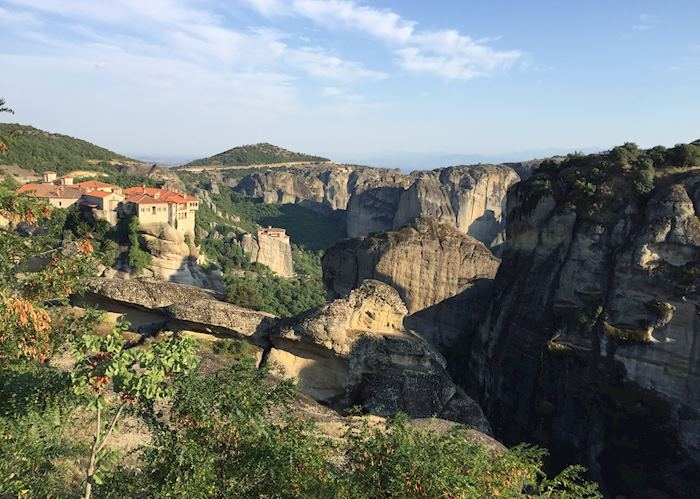View of Meteora monasteries, Greece