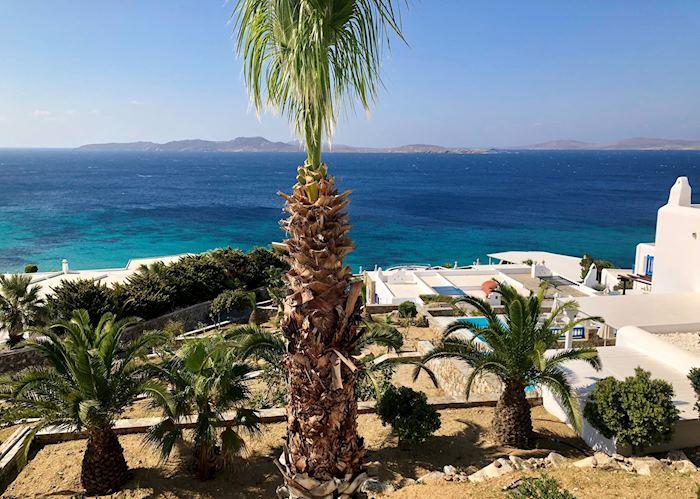 View from Agios Ioannis, Mykonos