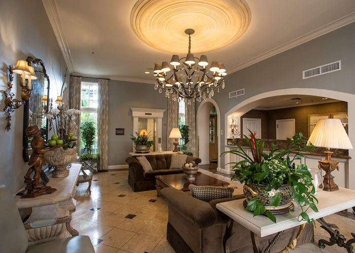 Lobby at Bienville House