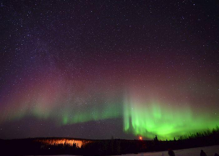 Views of the Northern Lights from Fairbanks, Alaska