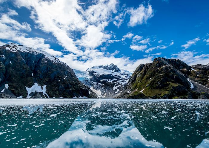 Views around Kenai Fjords National Park, near Seward, Alaska