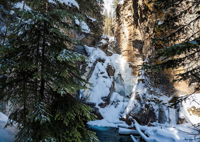 Johnston Canyon near Banff