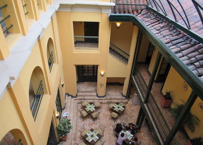 Central courtyard, Hotel de la Opera