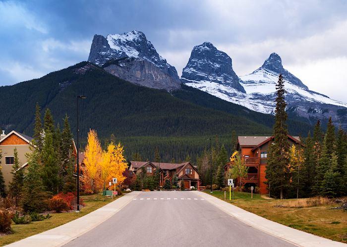 The Three Sister Mountains, near Fernie, British Columbia
