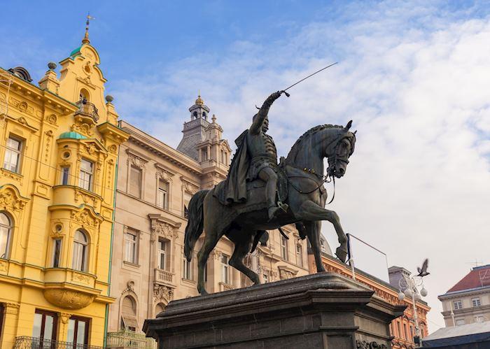 Ban Josip Jelačić Square, Zagreb