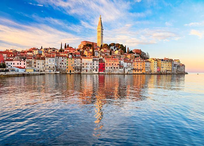 Waterfront of Rovinj, Croatia