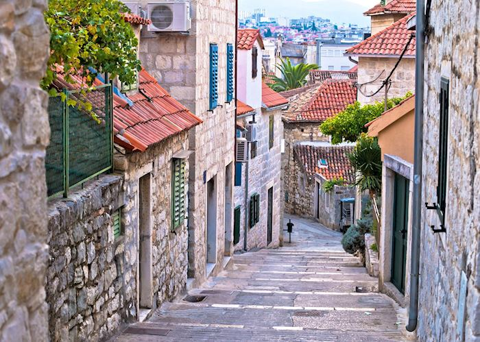 Old streets of Varoš, Split