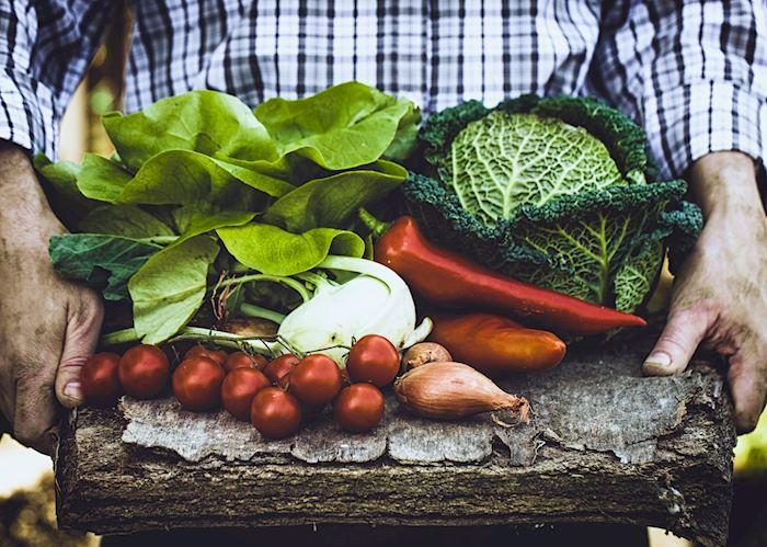 Local produce, Trogir