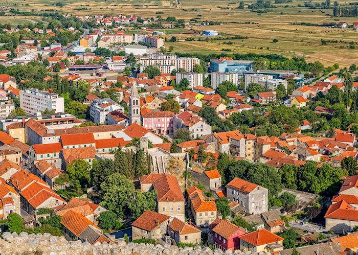 Town of Sinj, Croatia