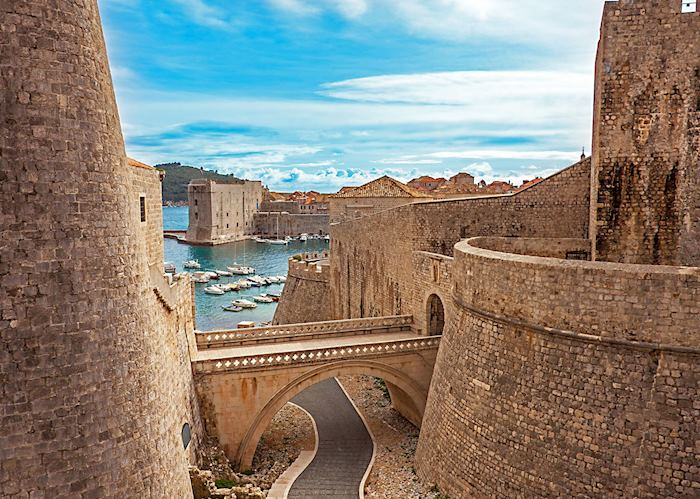 Bridge to Pile Gate, Dubrovnik