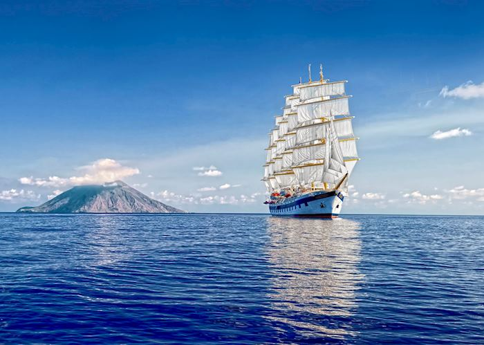Royal Clipper, Caribbean